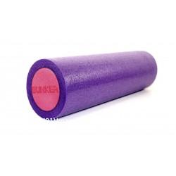 """Foam Roller masajeador de 15"""" por 60"""" morado/rosa"""