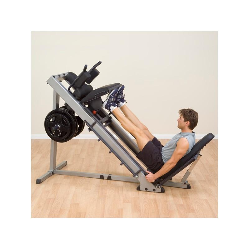 aparato para pierna y sentadilla body solid