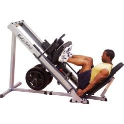 prensa para pierna y sentadilla