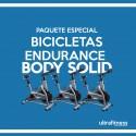 PAQUETE DE 3 BICICLETAS SPINNING BODY SOLID ESB150