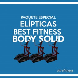 PAQUETE 3 ELÍPTICAS BFE2 BODY SOLID