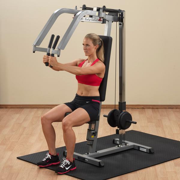 Aparato para gimnasio para pecho y espalda (deltoide) Pec Dec GPM65 Body Solid